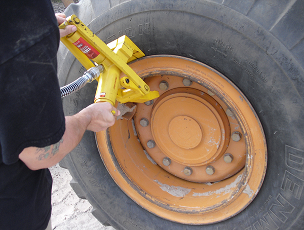 Image for MODIFIED COMBI TIRE BEAD BREAKER