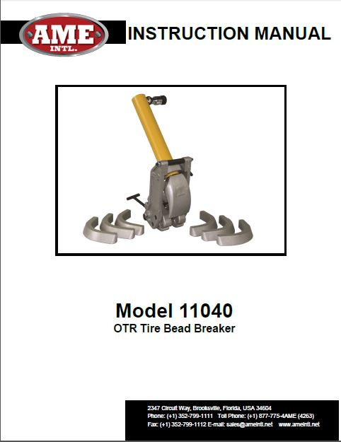 11040 INSTRUCTIONS PDF