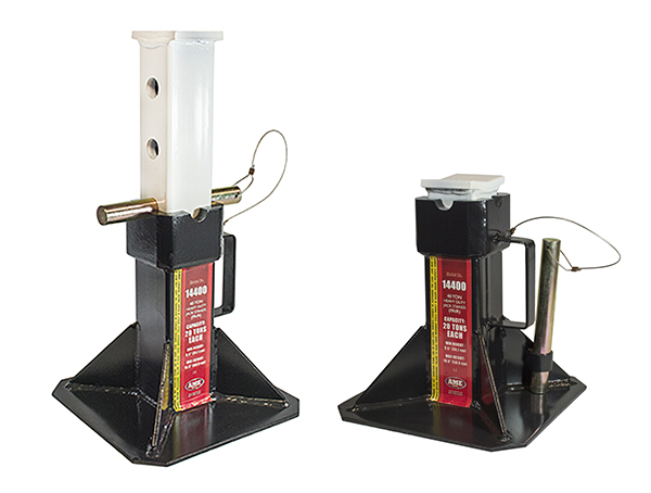 Gallery Picture 1 for 40 US TON HEAVY DUTY JACK STANDS (PAIR)