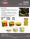 15002 STEEL CRIBBING PRODUCT FLYER PDF