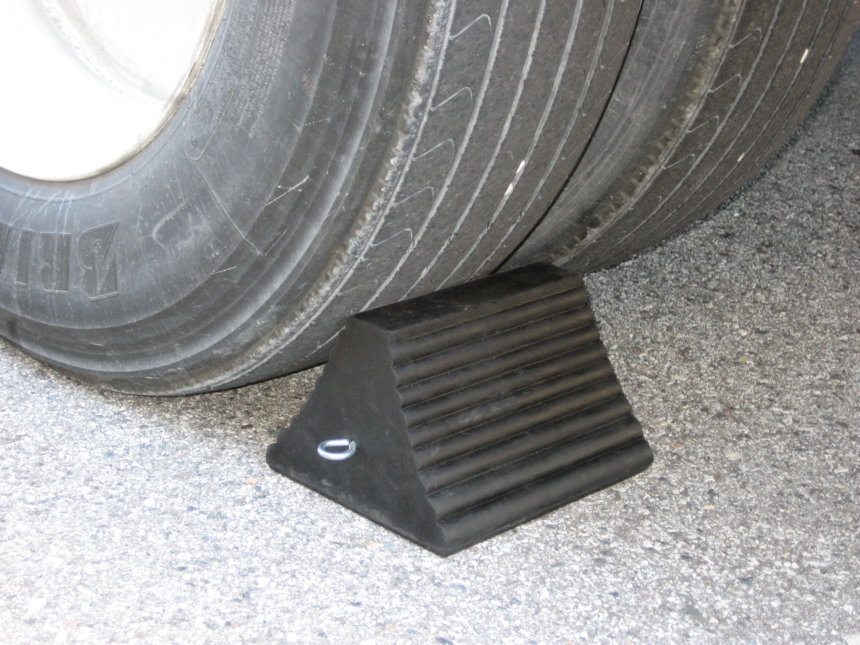 Image for RUBBER WHEEL CHOCK
