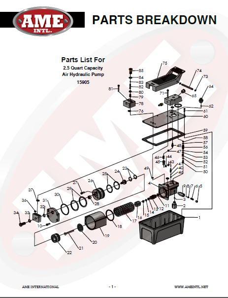 15905 PARTS BREAKDOWN PDF