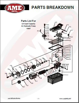 15907 PARTS BREAKDOWN PDF
