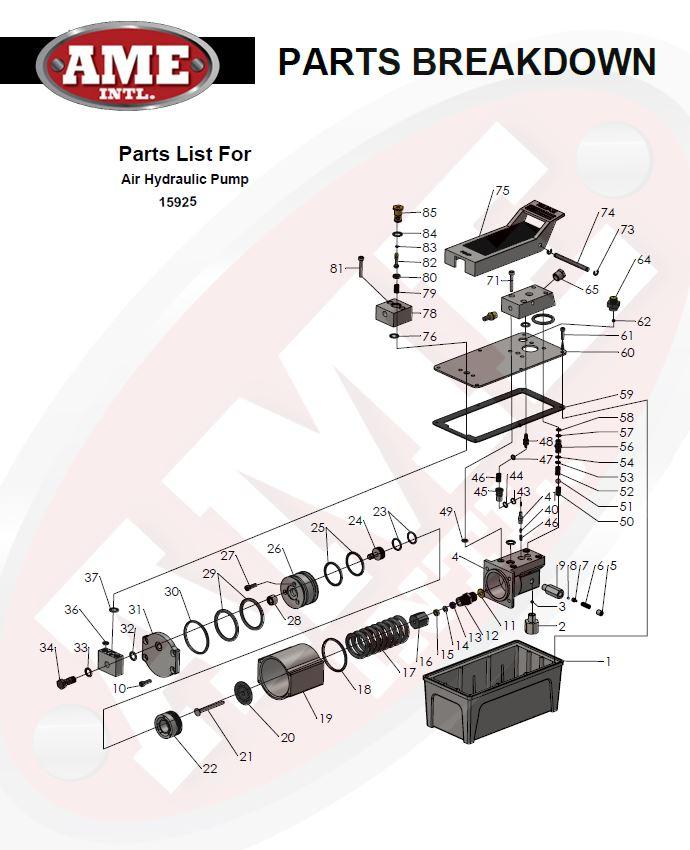 15925 Parts Breakdown PDF
