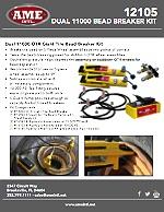12105 DUAL 11000 BEAD BREAKER KIT PRODUCT FLYER PDF