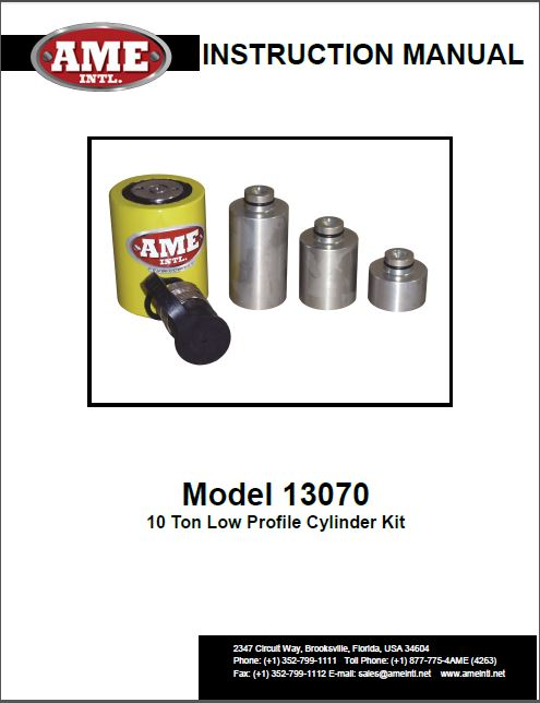 13070 INSTRUCTION MANUAL PDF