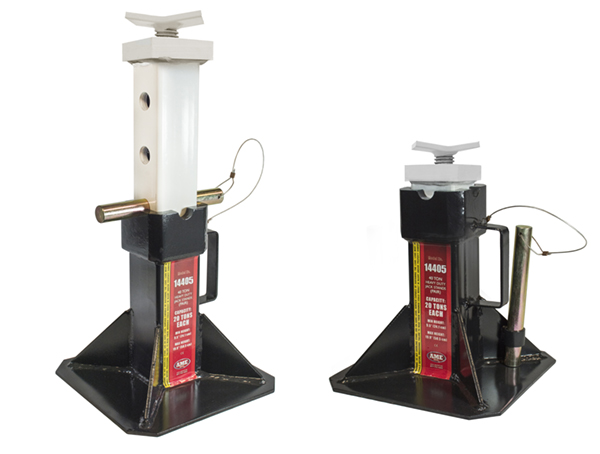 Gallery Picture 1 for 40 TON HEAVY DUTY JACK STANDS (PAIR)