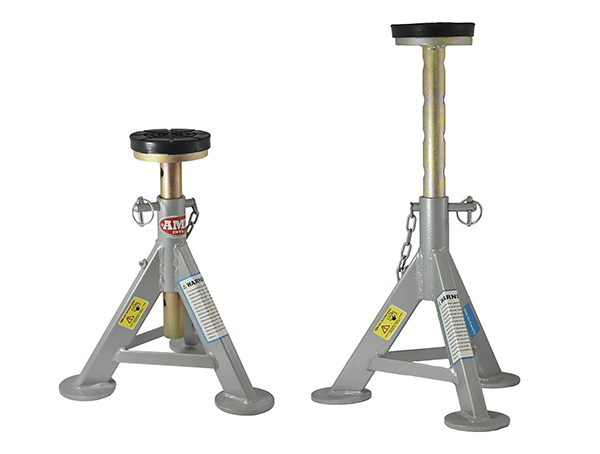 Gallery Picture 1 for 6 TON FLAT TOP JACK STANDS (PAIR)