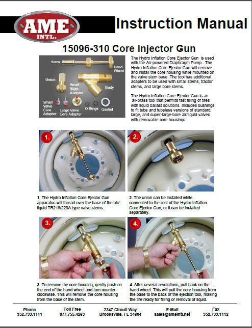 15096 INSTRUCTION MANUAL PDF