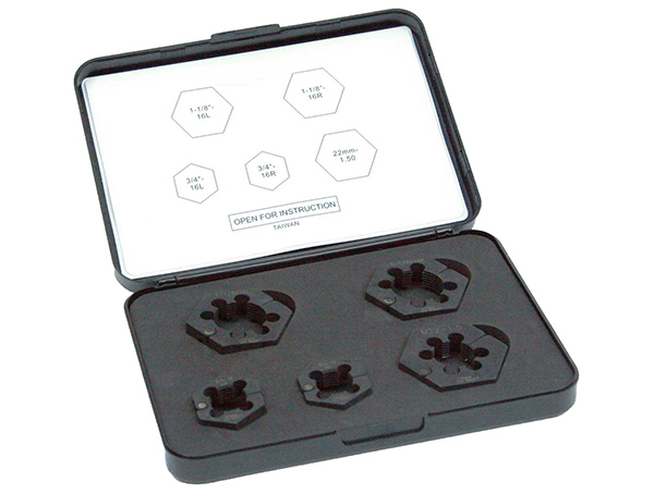 Gallery Picture 1 for UNIMOUNT BALL SEAT SAVE-A-STUD RETHREAD KIT, 5 PIECE