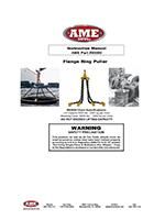 MODEL # 93000- FLANGE RING PULLER INSTRUCTION MANUAL PDF