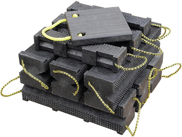 Gallery Picture 1 for SUPER STACKER CRIBBING BLOCKS, FR INDUSTRIAL KIT