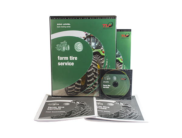 Gallery Picture 1 for FARM TIRE SERVICE TRAINING KIT – DVD VERSION