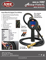 24867 Accu-Flate XL Digital Tire Inflator Flyer PDF