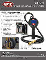 24867 Accu-Flate XL Digital Tire Inflator Flyer - Spanish PDF