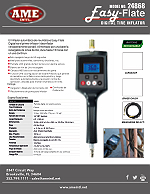 24868 Easy-Flate Digital Tire Inflator Flyer - Spanish PDF