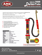24869 Dura-Flate Digital Tire Inflator Flyer PDF