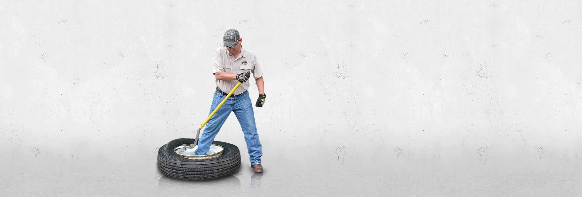 Heavy Duty Tire Service Tool