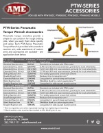 PTW Series Accessory Flyer PDF