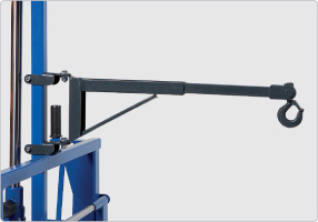 Image for AC HYDRAULIC TELESCOPIC CRANE ARM FOR WHEEL TROLLEYS