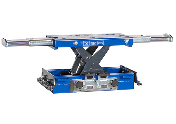 Gallery Picture 1 for AC HYDRAULIC AIR/HYDRAULIC JACKING BEAM, 3.2 TON