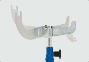 Image for AC HYDRAULIC UNIVERSAL BRACKET & LIQUID TUB FOR TRANSMISSION JACKS