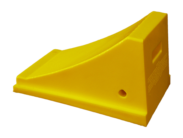 Gallery Picture 1 for URETHANE WHEEL CHOCK, 35″-55″ TIRES