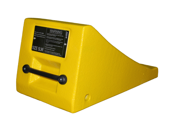 Gallery Picture 1 for URETHANE WHEEL CHOCK, 86.6″-137.8″ TIRES