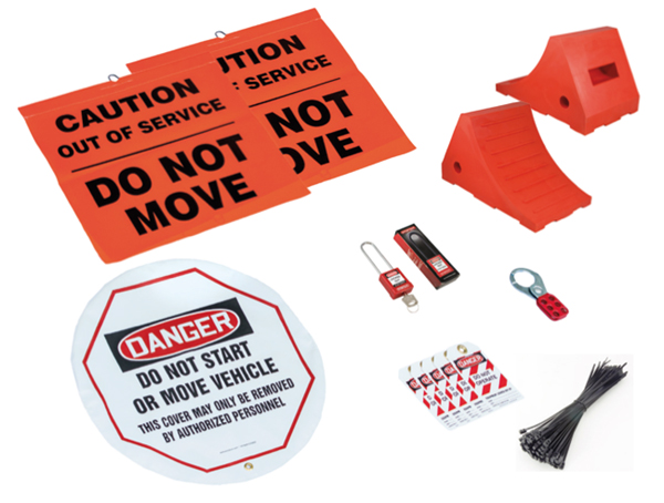 COMMERCIAL LOCK OUT TAG OUT KIT