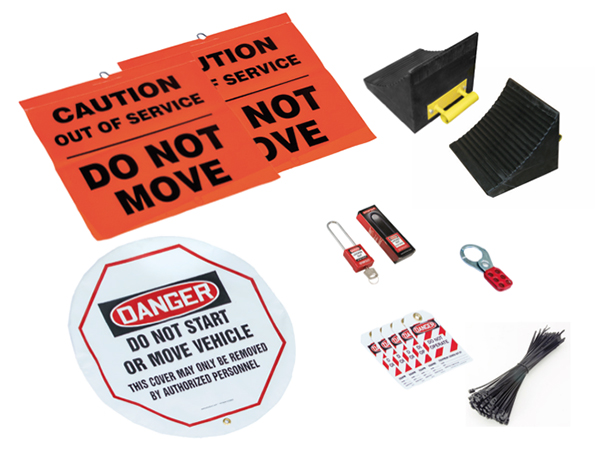 Gallery Picture 1 for EARTHMOVER LOCK OUT TAG OUT KIT