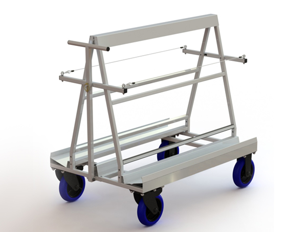Gallery Picture 1 for STAINLESS STEEL TROLLEY