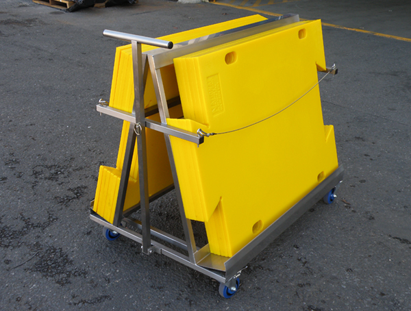 Image for STAINLESS STEEL TROLLEY