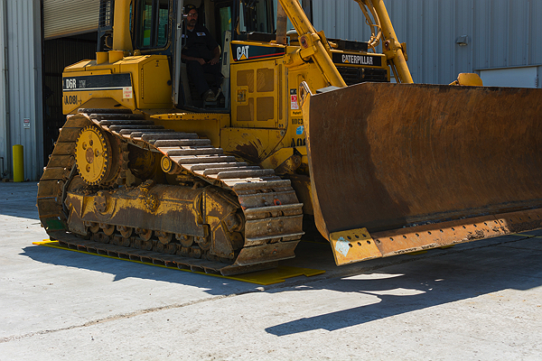 Image for DOZER TRACK FLOOR PROTECTION MATS