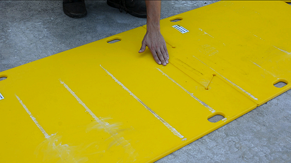 Ame Intl Dozer Track Floor Protection Mats Ame Intl