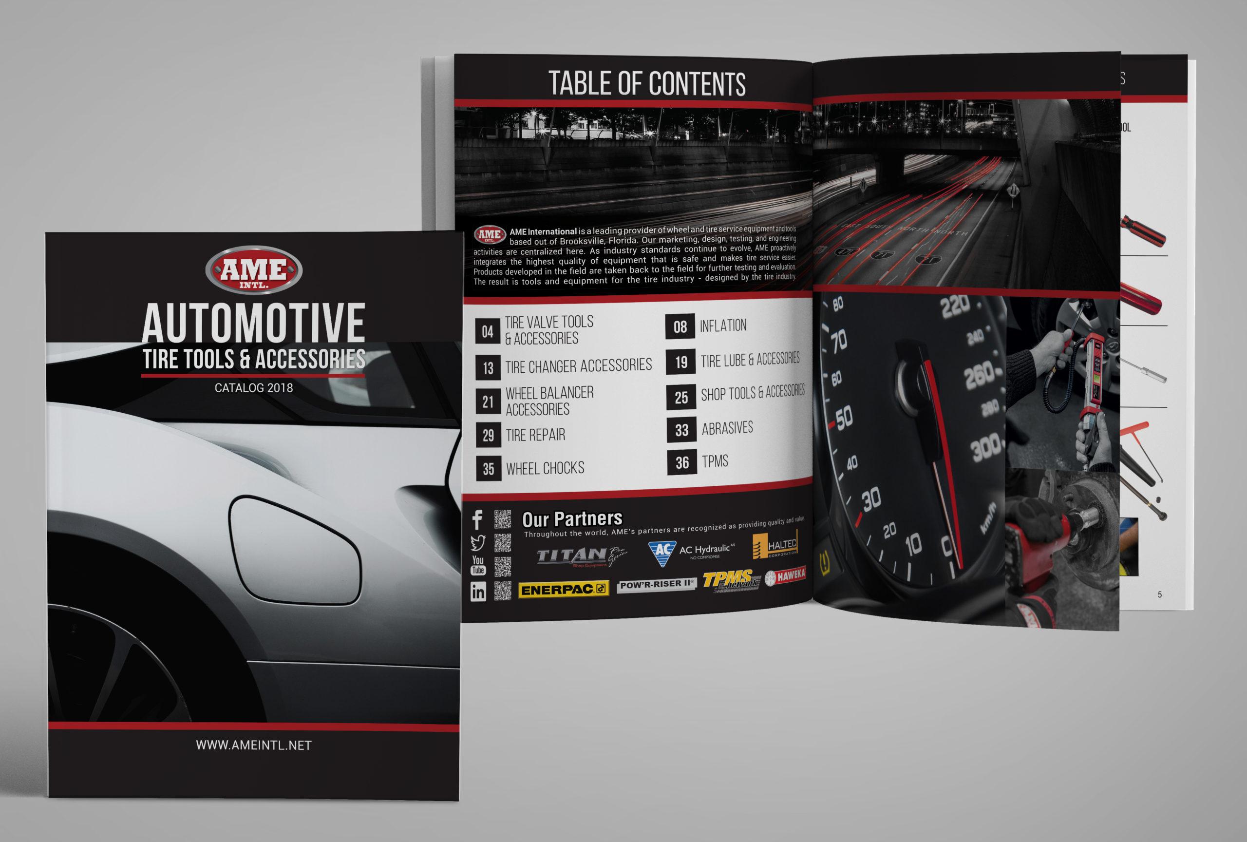 2018 Automotive Catalog Digital mockup