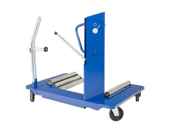 Gallery Picture 1 for AC HYDRAULIC AG WHEEL TROLLEY, 1.5 TON