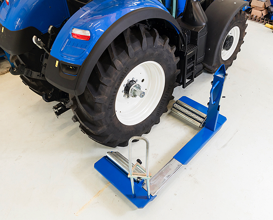 AC HYDRAULIC AG WHEEL TROLLEY, 1.5 TON-Ame International