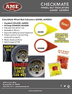 CHECKMATE WHEEL NUT INDICATORS PRODUCT FLYER PDF
