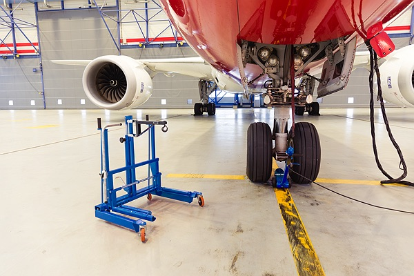 Image for AC HYDRAULIC HYDRAULIC WHEEL TROLLEY FOR AIRCRAFTS
